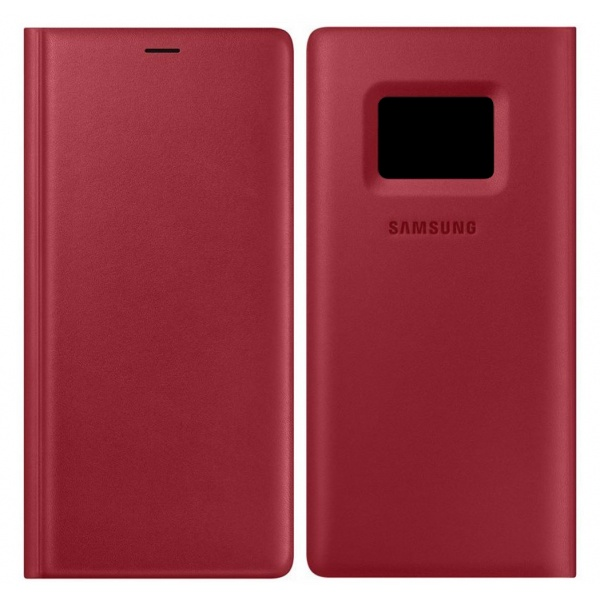 Original Samsung Galaxy Note 9 Leather Wallet Cover Leder...