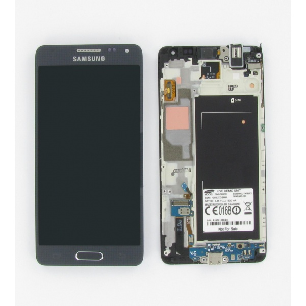 Original Samsung Galaxy Alpha G850F Display LCD...