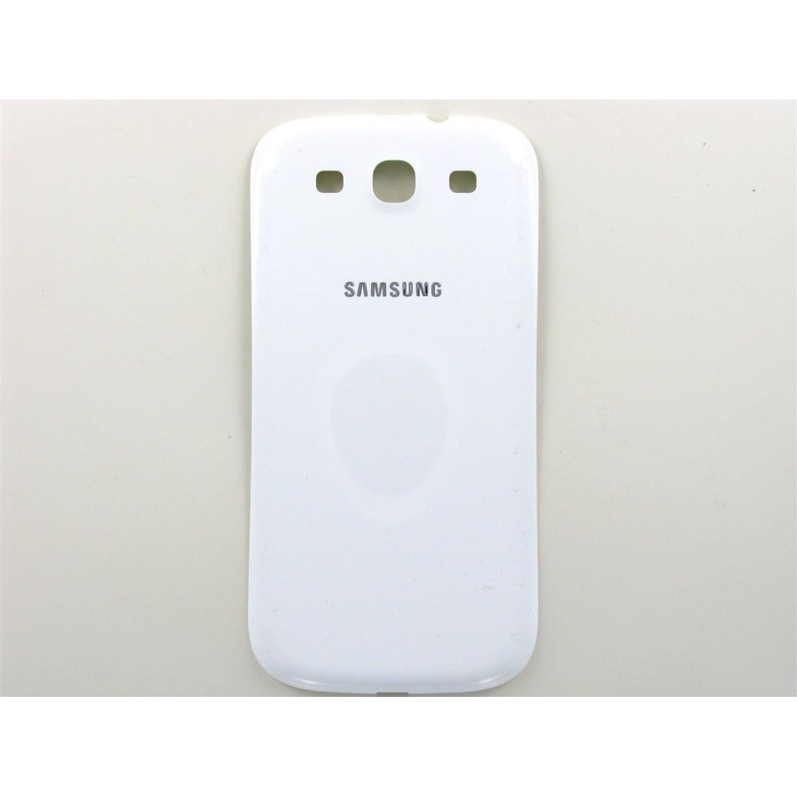 Original Samsung Galaxy S3 I9300 I9305 Akkudeckel Backcover Weiß  Sehr Gut