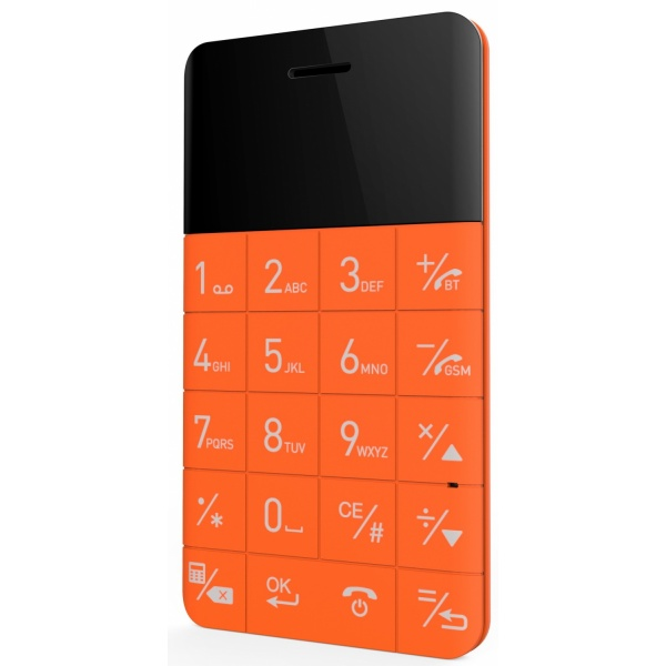 Elari CardPhone 2G 1GB, Orange 1.10, Single SIM...
