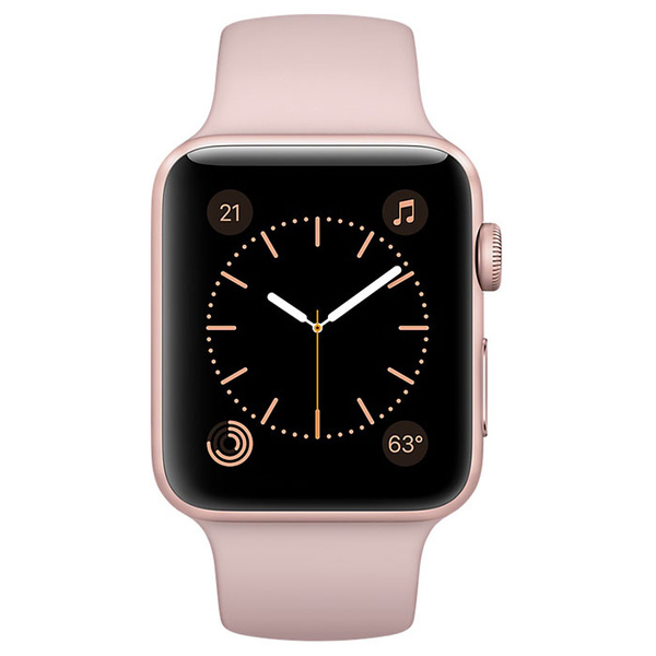 Apple Watch 2 MNNY2FS/A 38mm Rose Gold/Pink Sand Sport...