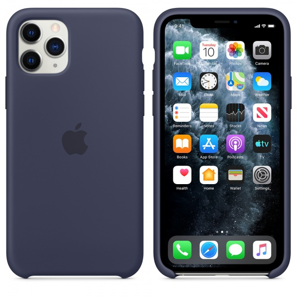 Original Apple iPhone 11 Pro Silikon Case MWYJ2ZM/A Hülle...