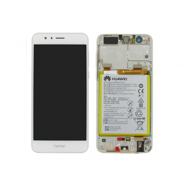 Original Huawei Honor 8 FRD-L09 Display LCD Rahmen...