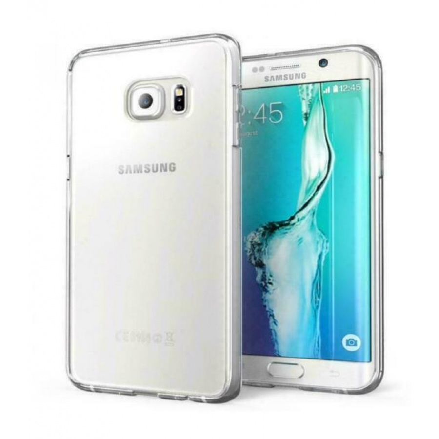 Goospery Samsung Galaxy S6 Silikon Schutz Hülle Jelly Cover Case Transparent
