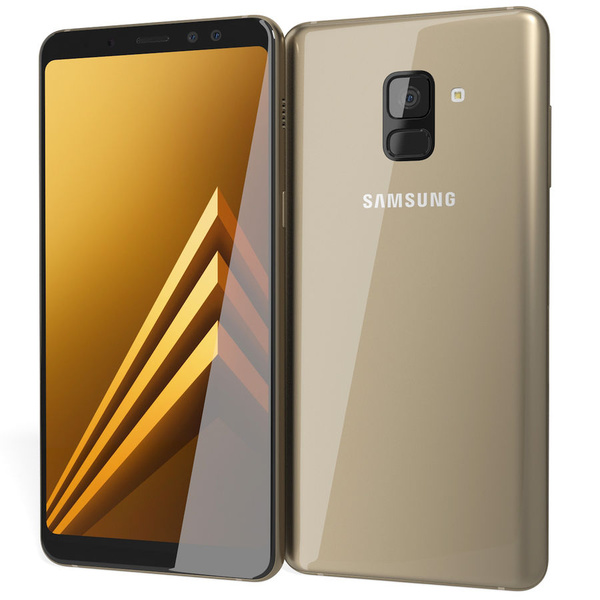 Samsung Galaxy A8 2018 Duos Dual Sim 32GB Gold Android...