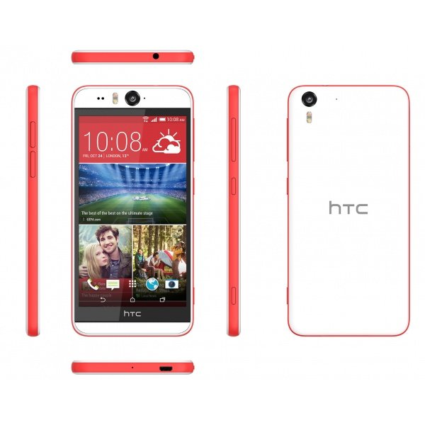 HTC Desire Eye Coral Red M910n Weiß 16GB Android...