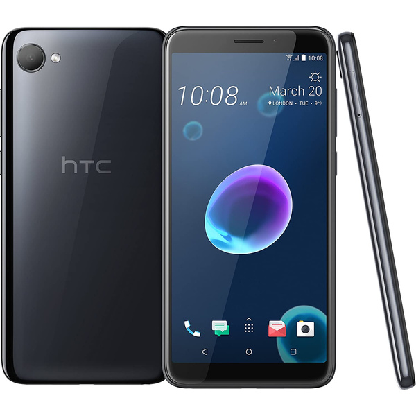 HTC Desire 12 Dual Sim Android Smartphone Cool Black 32GB...