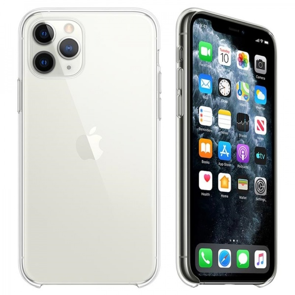 Original Apple iPhone 11 Pro Clear Case MWYK2ZM/A Hülle...