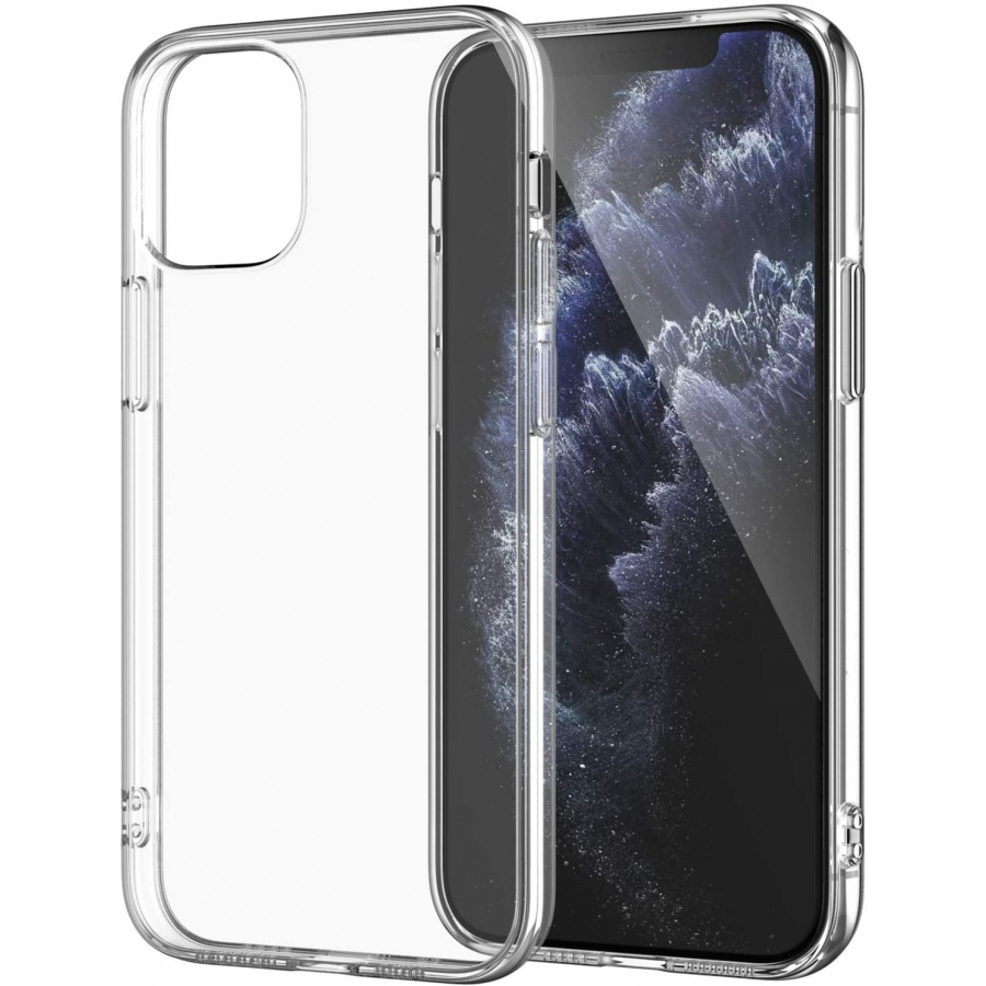 Wisam® Apple iPhone 12 Pro Max (6.7) Silikon Case Schutzhülle Hülle Transparent