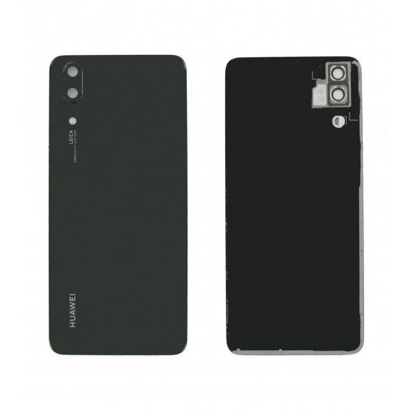 Original Huawei P20 EML-L29 Akkudeckel Backcover Black...