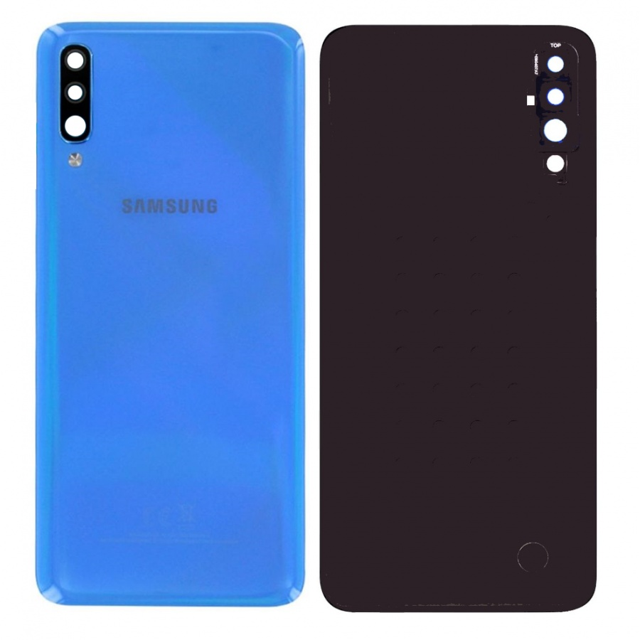 Original Samsung Galaxy A70 SM-A705F Akkudeckel Backcover Rückseite Blau Gut