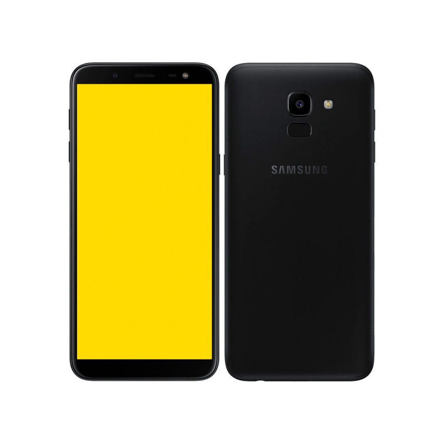 Samsung Galaxy J6 (2018) Duos Dual Sim 32GB Black Android Smartphone Guter Zustand Neutral verpackt