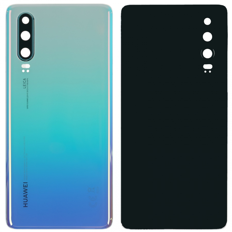 Original Huawei P30 ELE-L29 Akkudeckel Backcover Breathing Crystal Gut