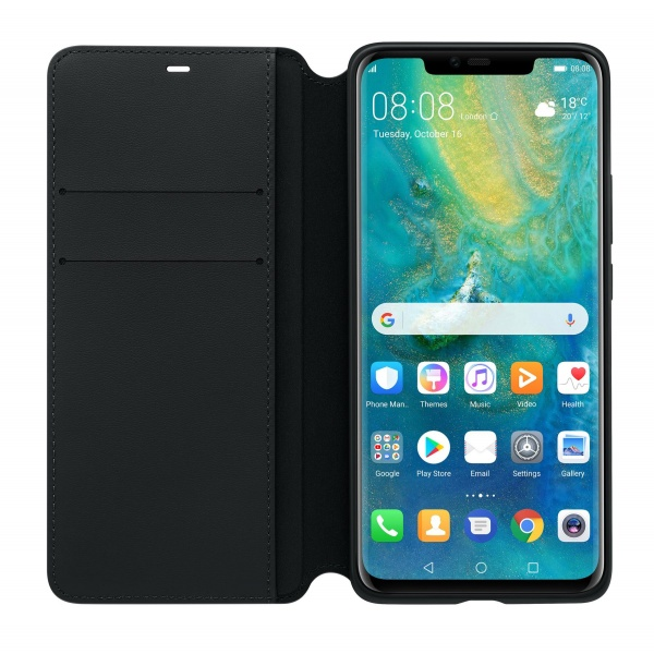 Original Huawei Mate 20 Pro Wallet Flip Cover Case...