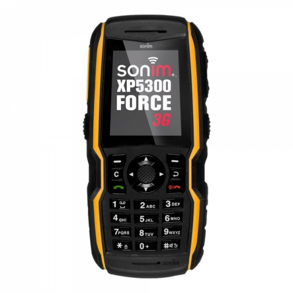Sonim XP5300 Force 3G E-R1 EU Gelb Mil Spec 810G IP68...