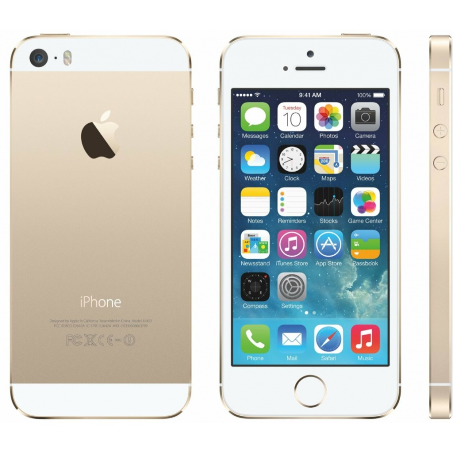 Apple iPhone 5S 64GB Smartphone Gold A1457 Wie Neu White Box