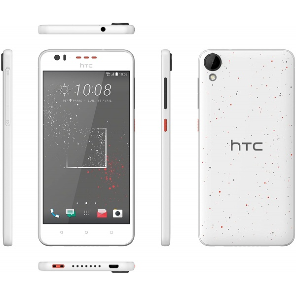 HTC Desire 825 Android Smartphone Sprinkle White 16GB LTE...