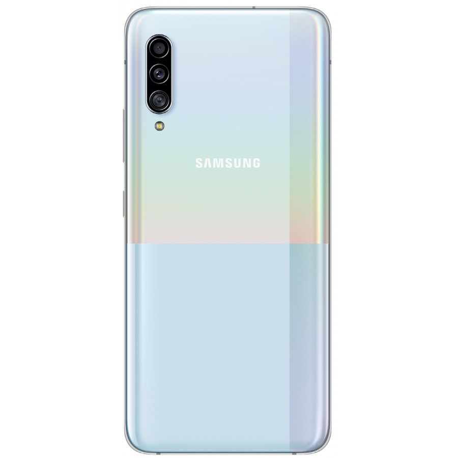 Original Samsung Galaxy A90 SM-A908F Akkudeckel Backcover Weiß Sehr Gut