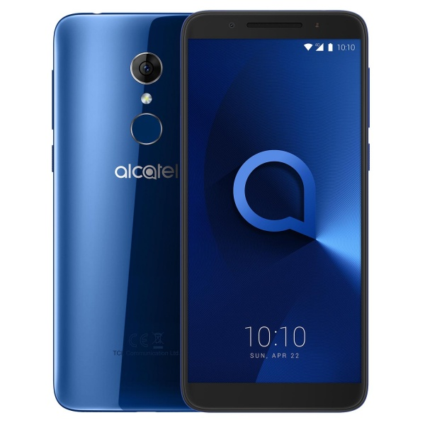 Alcatel 3 5052Y Spectrum Blue Smartphone 16GB Android 8...