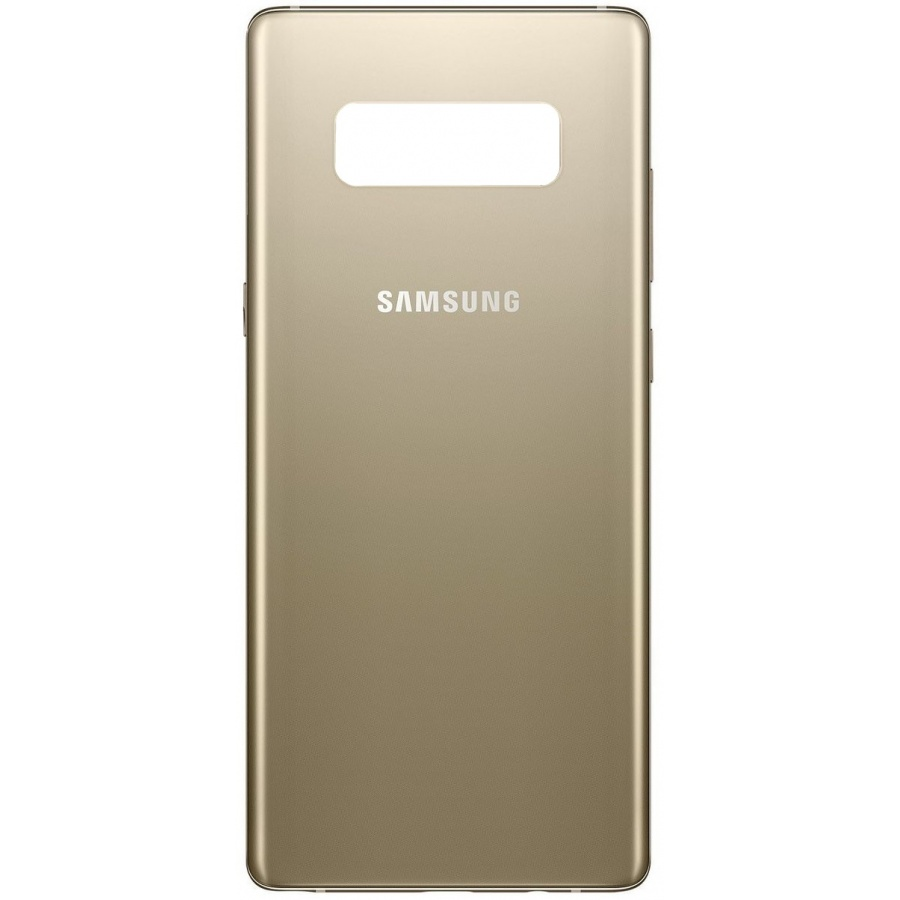 Original Samsung Galaxy Note 8 N950F Akkudeckel Backcover Gold Akzeptabel
