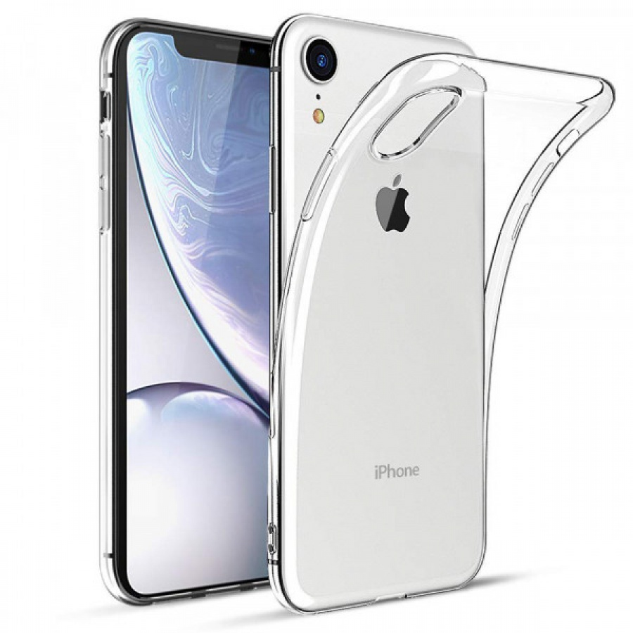 Original Apple iPhone XR Clear Case MRW62ZM/A Hülle Schutzhülle Transparent