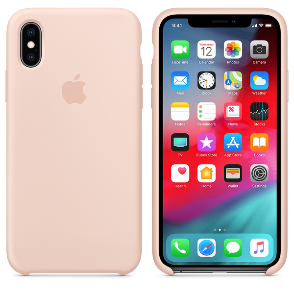 Original Apple iPhone XS Silikon Case MTF82ZM/A Hülle...