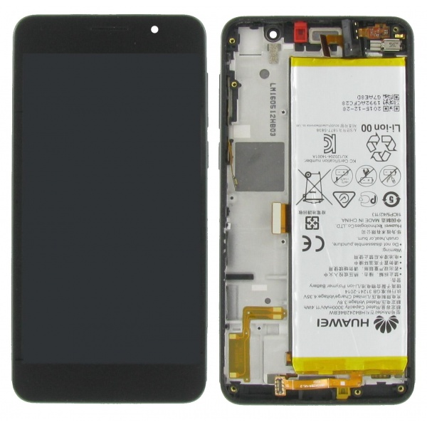 Original Huawei Honor 6 Display LCD Rahmen Gehäuse Glas...