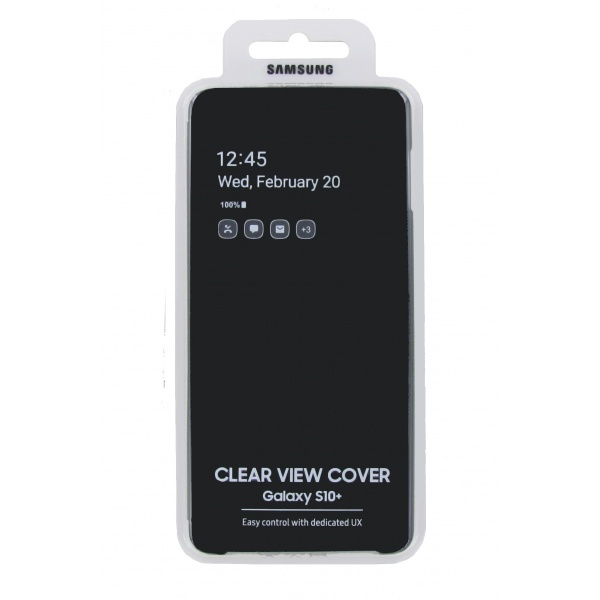 Original Samsung Galaxy S10+ Clear View Cover Schutzhülle...