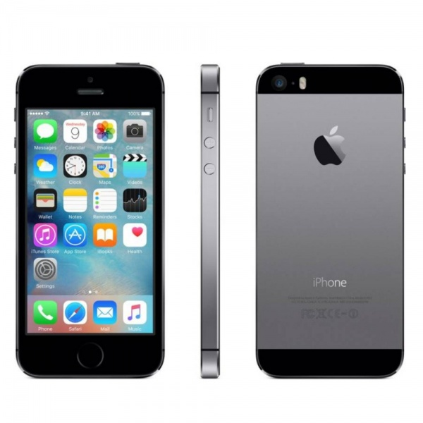 Apple iPhone 5S 16GB Space Gray Neu in White Box