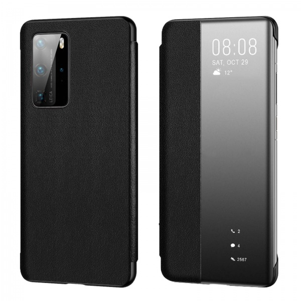 Original Huawei P40 Pro Smart View Flip Cover 51993781...