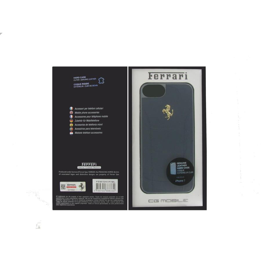 Original Ferrari Apple Iphone 8 7 Se 2020 Cover Case Leder Schutzhüll