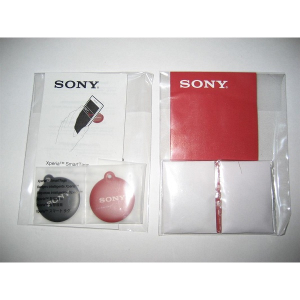 2x Original Sony Smart NT1 Tag Xperia Sola P S Z Android...