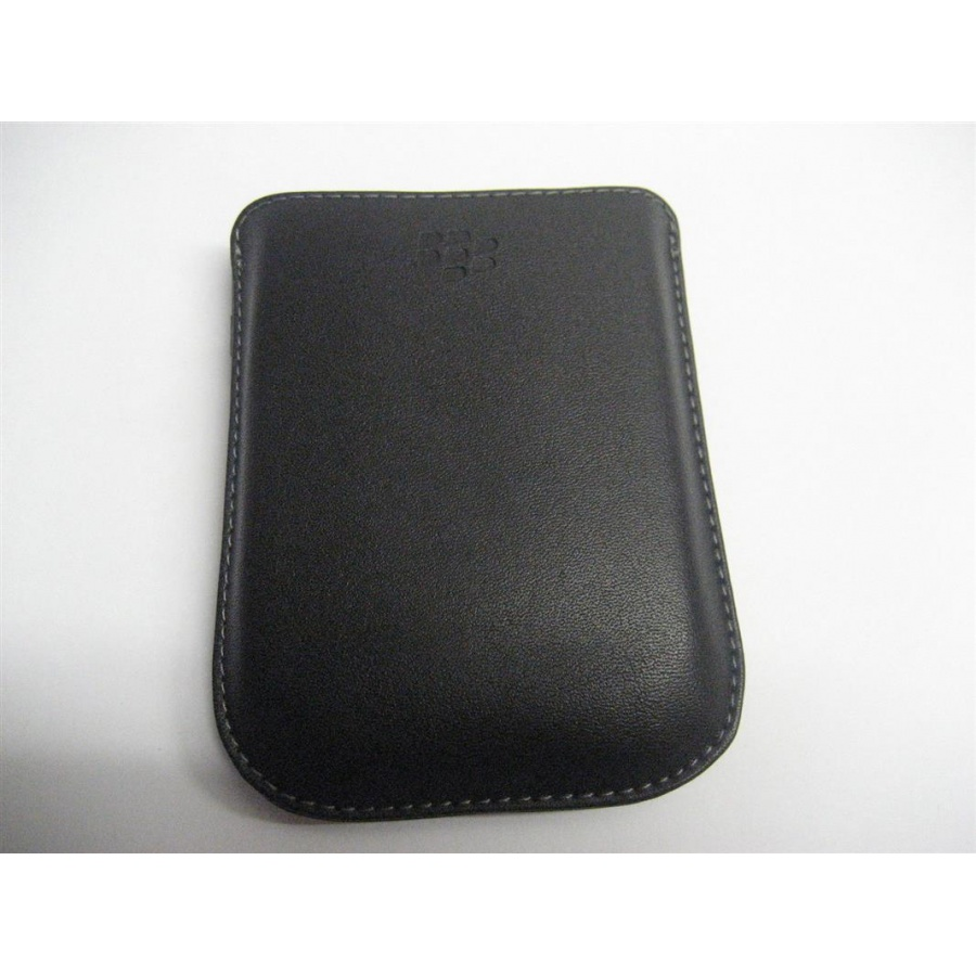 Original Blackberry Pearl 8220 Leder Tasche Pocket Case Pouch HDW-19815-001