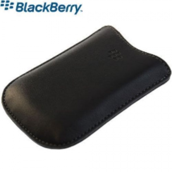 Original Blackberry Pearl 8220 Leder Tasche Pocket Case...