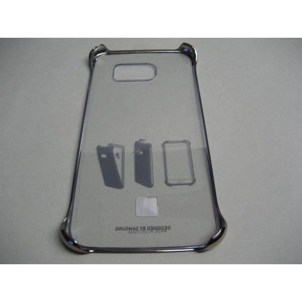 Original Samsung Clear Cover für Galaxy S6 Gold Hülle...