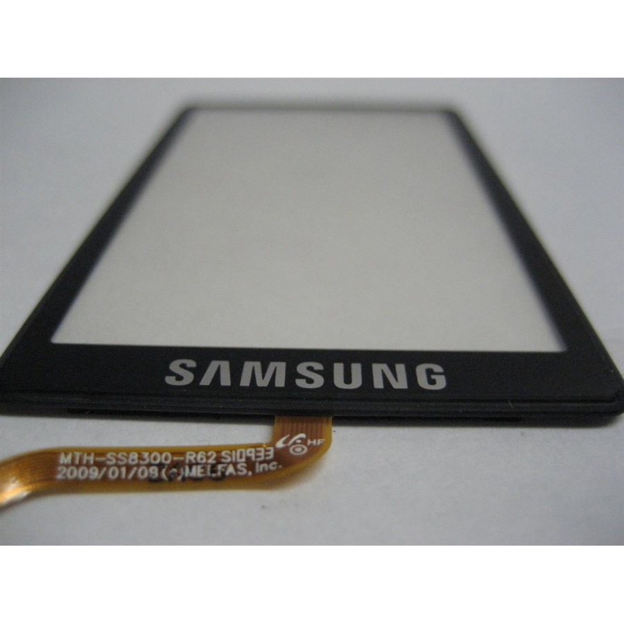 Original Samsung GT-S8300 S8300 Touchscreen Displayglas Digitizer Schwarz