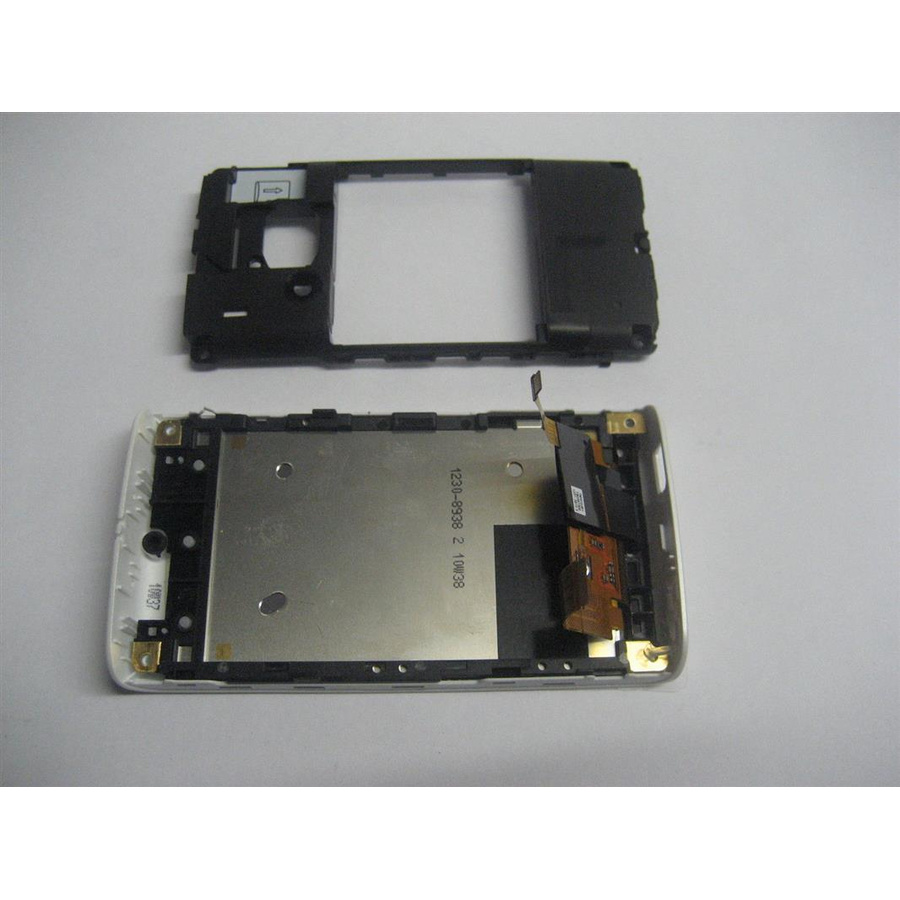 Original Sony Ericsson XPERIA X8 Gehäuse Display Front- Backcover Weiss A-Ware