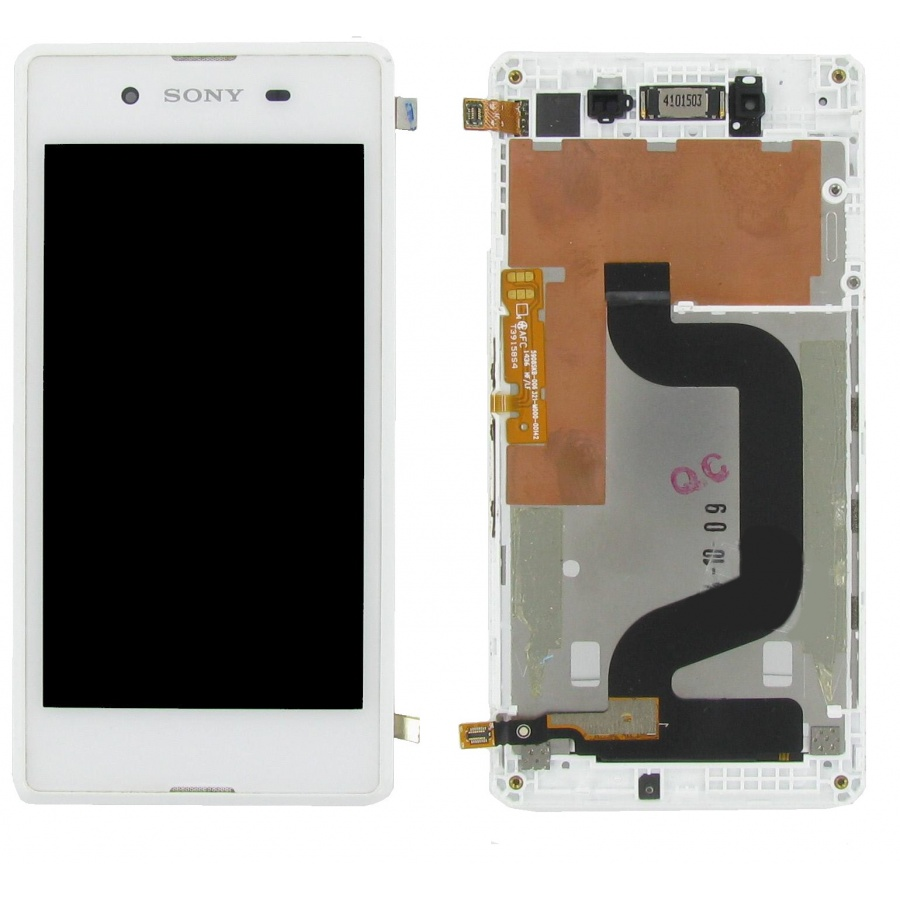 Original Sony Xperia E3 D2202 Display Touchscreen Gehäuse Weiß  C-Ware