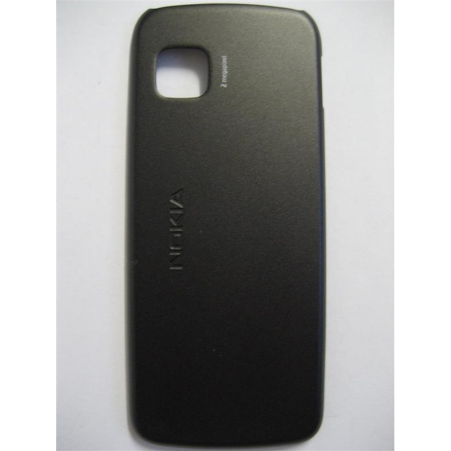 Original Nokia 5230 Akkudeckel Battery Cover Back Cover Schwarz Neu