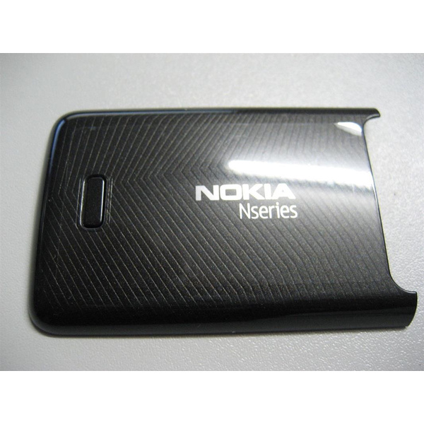 Original Nokia N82 Akkudeckel Battery Cover Schwarz Black