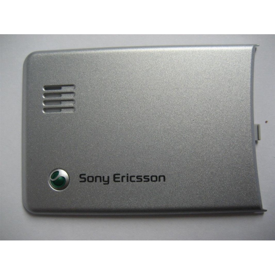 Original Sony Ericsson C510 Akkudeckel Battery Cover Back Cover Silber silver