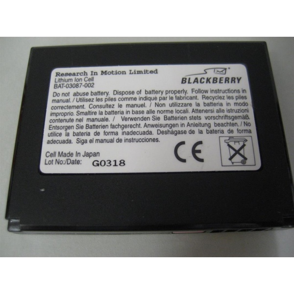 Original Blackberry BAT-03087-003  Akku für 6210, 6220,...