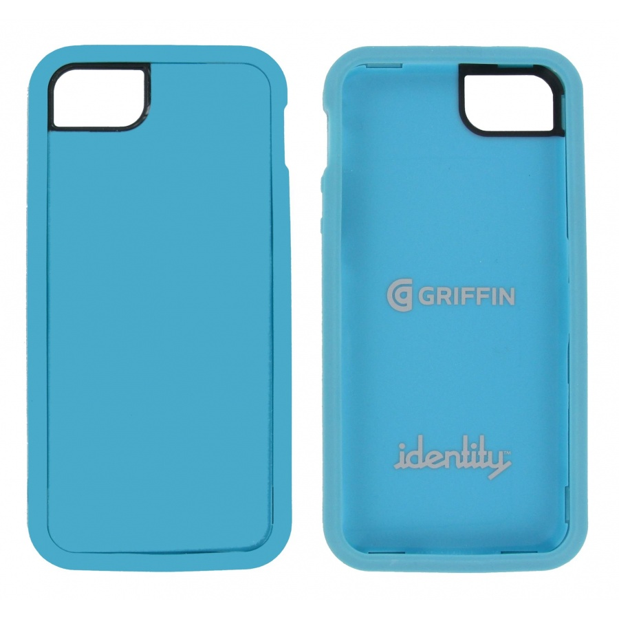 Griffin Apple iPhone 5 / 5S Case Hülle Schutzhülle Bumper Handy Cover Türkis
