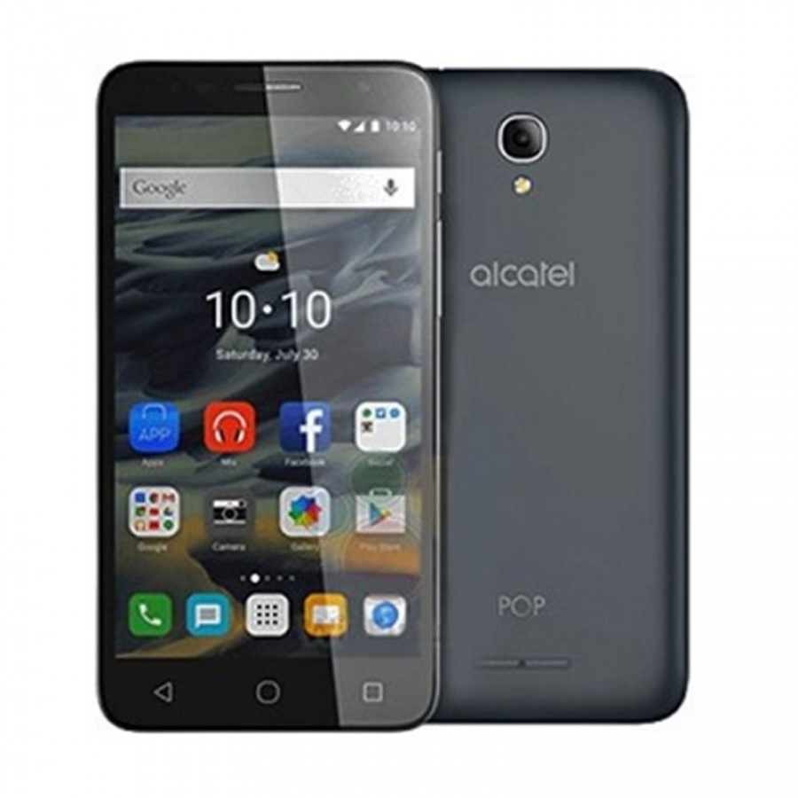 Alcatel Pop 4 5051X Dark Gray LTE Smartphone Guter Zustand in White Box