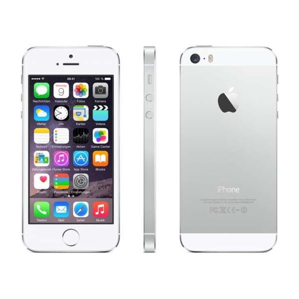 Apple iPhone 5S 16GB Silver Silber OVP Akzeptabel
