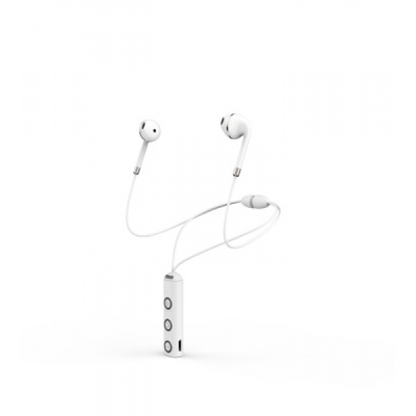 Sport Headphone Wireless Music and Movement by Wisam white