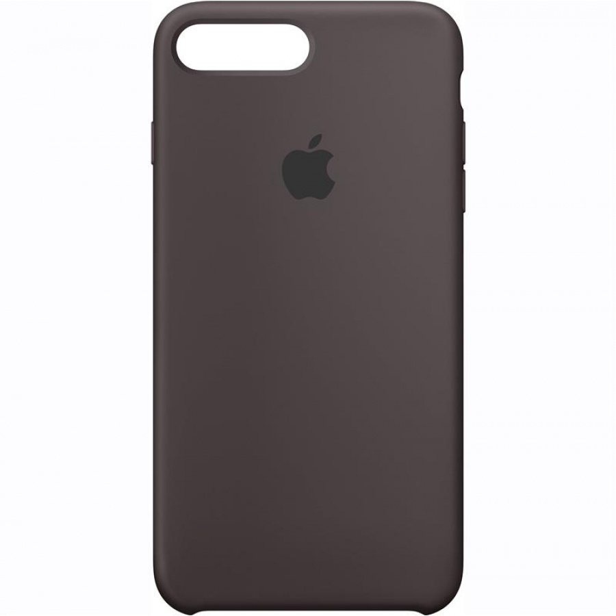 Apple iPhone 7 Plus Silikon Case Hülle Schutzhülle Cocoa