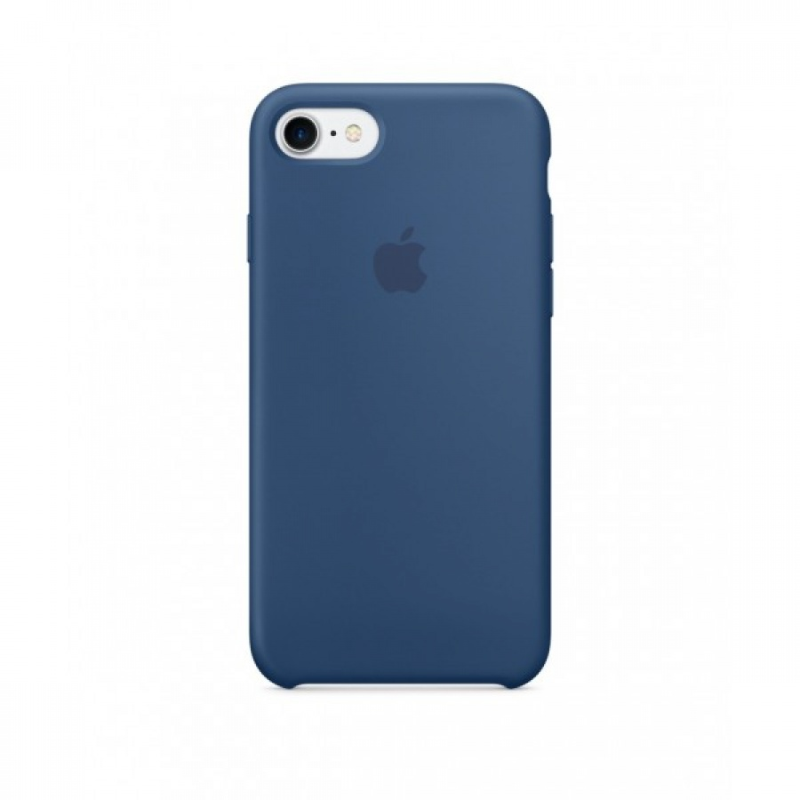 Apple iPhone 7 Plus Silikon Case Hülle Schutzhülle Ozean Blue