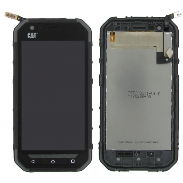 100% Original CAT S30 Display LCD Touchscreen Black...