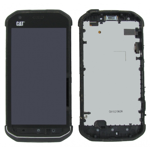100% Original CAT S40 Display LCD Touchscreen Black...